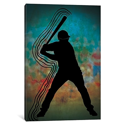 East Urban Home Full Count Graphic Art on Wrapped Canvas; 18'' H x 12'' W x 0.75'' D