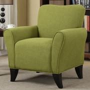 Red Barrel Studio Oakside Armchair; Green
