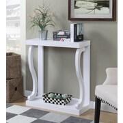 Ebern Designs Hubbard Console Table; White