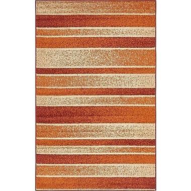 Ebern Designs Bryan Rust Red Area Rug; 5' x 8'