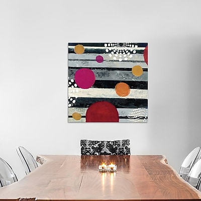 East Urban Home Harmony II Painting Print on Wrapped Canvas; 12'' H x 12'' W x 1.5'' D