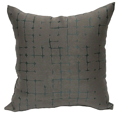 Varick Gallery Butcombe Throw Pillow; Silver