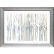 Red Barrel Studio 'Mystical Woods' Framed Graphic Art Print; 30'' H x 40'' W
