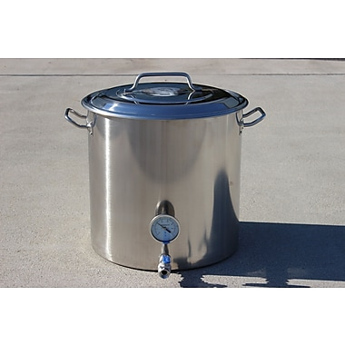 Concord Concord Stainless Steel Home Brew Pot and Kettle; 180 QT/ 45 Gal