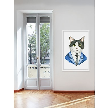 Ivy Bronx 'It's All Business' Framed Painting Print; 18'' H x 12'' W