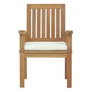 Bay Isle Home Bertha Outdoor Teak Dining Chair