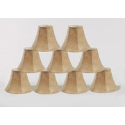 Loon Peak 6'' Faux Leather Bell Lamp Shade Set of 9 (Set of 9)