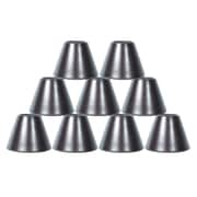 Orren Ellis 6'' Metal Bell Lamp Shade Set of 9 (Set of 9); Oil-Rubbed Bronze