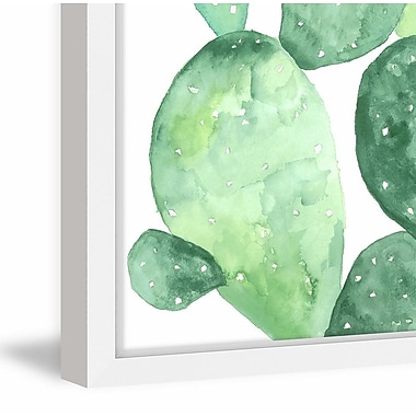 Ivy Bronx 'Prickly Pear' Framed Painting Print; 36'' H x 24'' W