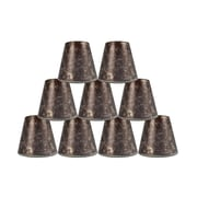 Loon Peak 5'' Mica Bell Candelabra Shade Set of 9 (Set of 9); Amber