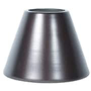 Orren Ellis 6'' Metal Bell Lamp Shade; Oil-Rubbed Bronze