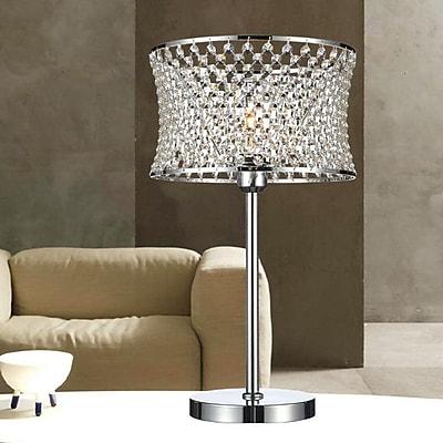 CrystalWorld 20'' Table Lamp
