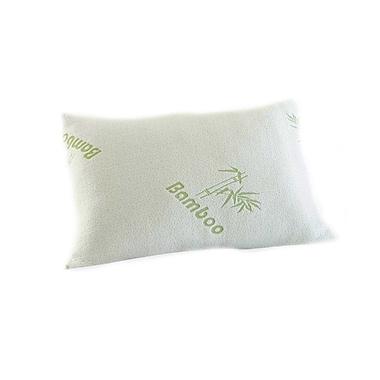 Alwyn Home Original Hotel Bamboo Comfort Memory Foam Pillow; Queen