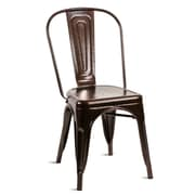 Williston Forge Lorenz Dining Chair (Set of 4); Antique Copper