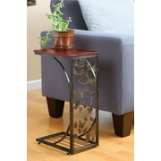 August Grove Andelain Sliding Snack Laptop Writing Console Table