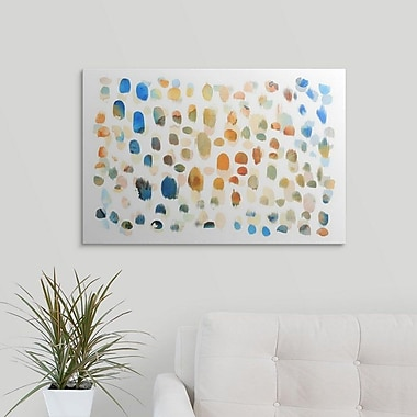Varick Gallery 'Colour Dabs' Print on Canvas; 8'' H x 12'' W x 1.5'' D