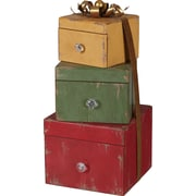 The Holiday Aisle Stacked Gift Box Drawers