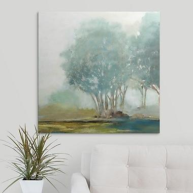 Charlton Home 'Blueberry Hill II' Print on Canvas; 12'' H x 12'' W x 1.5'' D