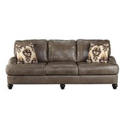 Darby Home Co McDonald Leather Sofa
