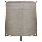 Fenchel Shades 14'' Linen Drum Lamp Shade; Natural