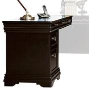 Darby Home Co Lou Keyboard 30'' H x 48'' W Wood Desk Return