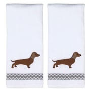 Ivy Bronx Caballero White Cotton Hand Towel (Set of 2)