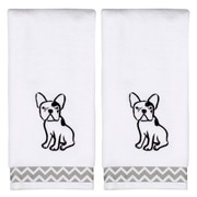 Ivy Bronx Caballero Soft White Cotton Hand Towel (Set of 2)
