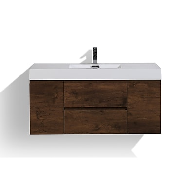 Orren Ellis Sinope 47'' Single Bathroom Vanity Set