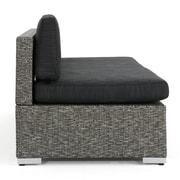 Orren Ellis Mallus Outdoor 4 Piece Sectional Set w/ Cushions