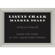 Orren Ellis Wood Framed Chalkboard