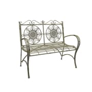 Ophelia & Co. Roselee Iron Park Bench