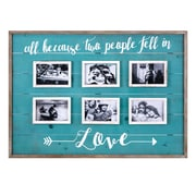 Gracie Oaks Macdonald Love Collage Wall Picture Frame