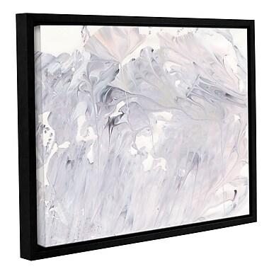 Orren Ellis 'Marbling III' Framed Graphic Art Print on Canvas; 24'' H x 32'' W x 2'' D