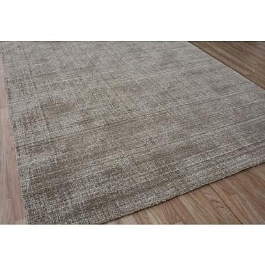 Orren Ellis Hyannis Hand-Woven Wool Brown Area Rug; 5' x 8'