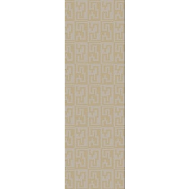 Ebern Designs Diego Silver Cloud & Parsnip Area Rug; Runner 2'6'' x 8'