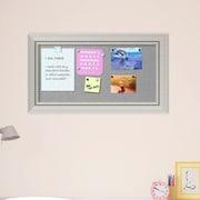 Orren Ellis Framed Magnetic Bulletin Board; 28''