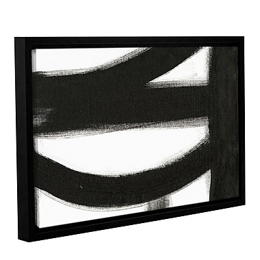 Orren Ellis 'Black and White IV' Framed Painting Print; 14'' H x 18'' W x 2'' D