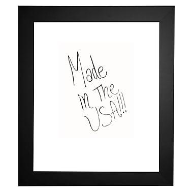 Orren Ellis Modern Satin Wide Dry Erase Board; 36'' X 30''