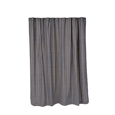 Brayden Studio Aguiar Cotton Shower Curtain