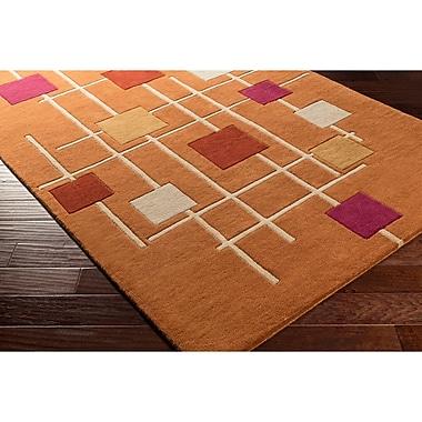 Ebern Designs Dewald Hand-Tufted Area Rug; 8' x 11'