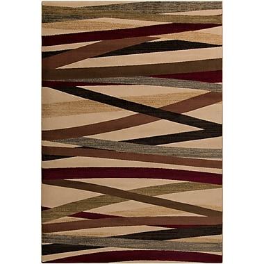 Ebern Designs Douglasland Beige Rug; 5'3'' x 7'6''