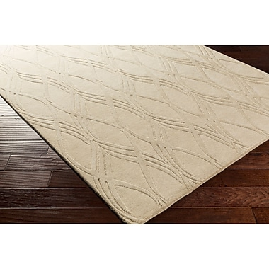 Ebern Designs Dionne Hand-Tufted Neutral Area Rug; 8' x 10'
