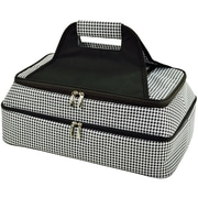 Rebrilliant Hot/Cold Thermal 5-Qt Food Storage Container; Houndstooth Print