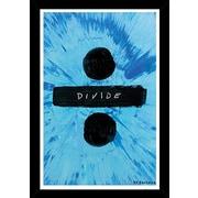 East Urban Home 'Ed Sheeran Divide' Wood Framed Graphic Art Print Poster