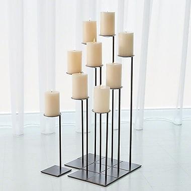 Red Barrel Studio 9 Piece Iron Candlestick Set (Set of 9)