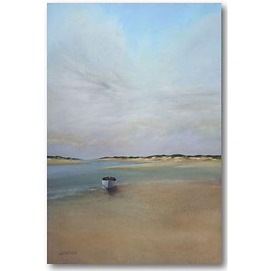 Highland Dunes 'Coastal Serenity' Painting Print on Wrapped Canvas