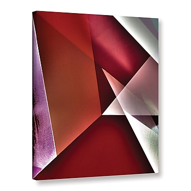 Latitude Run 'Masked Provocation' Graphic Art on Wrapped Canvas; 18'' H x 24'' W x 2'' D