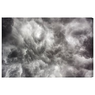 Latitude Run 'Storm No.1' Photographic Print on Wrapped Canvas; 24'' H x 36'' W x 1.5'' D