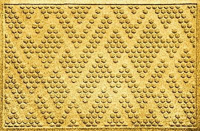Brayden Studio Mendez Doormat; Yellow