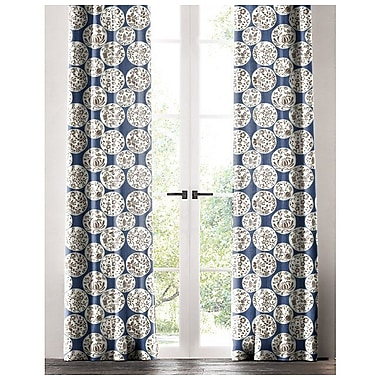 Darby Home Co Salas Floral Single Curtain Panel; 50'' W x 96'' L